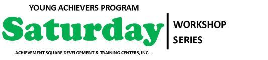 Saturday Workshop Series Logo